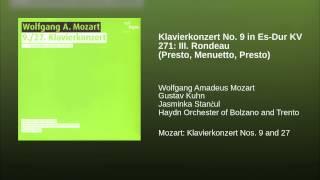 Klavierkonzert No. 9 in Es-Dur KV 271: III. Rondeau (Presto, Menuetto, Presto)