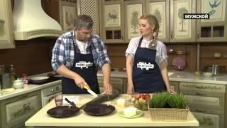 Ирина Гаврилова готовит таймень в сливочном соусе. Моя Кухня 91.