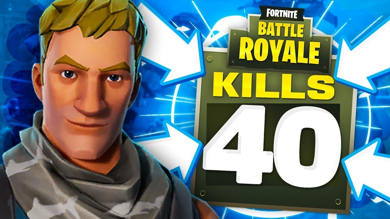 40 KILLS IN A Fortnite Battle Royale Match! - YouTube