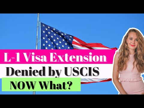 L1 Visa to the USA - Extension Denied by USCIS - YouTube