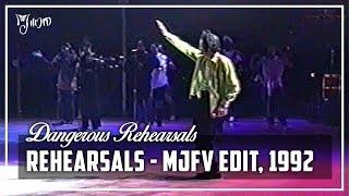 THE DANGEROUS REHEARSALS - The Dangerous Tour Rehearsals (MJFV's Cut) | Michael Jackson