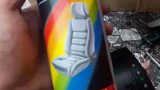 обзор краска для кожи и пластика для авто