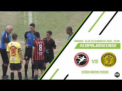 Copa Joseense 2018 - Esplanada Society x Moreira's Sport - 15/12/2018.