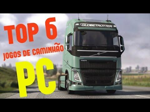 TOP 6 DE JOGOS DE CAMINHÃO PARA PC 2018!!!