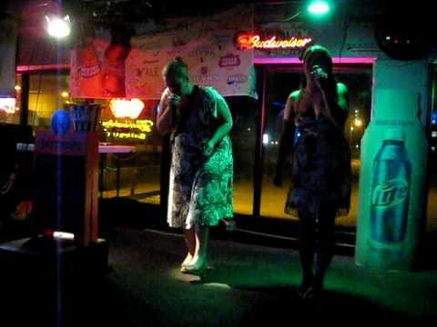 Annabeth and Diana sing Karaoke