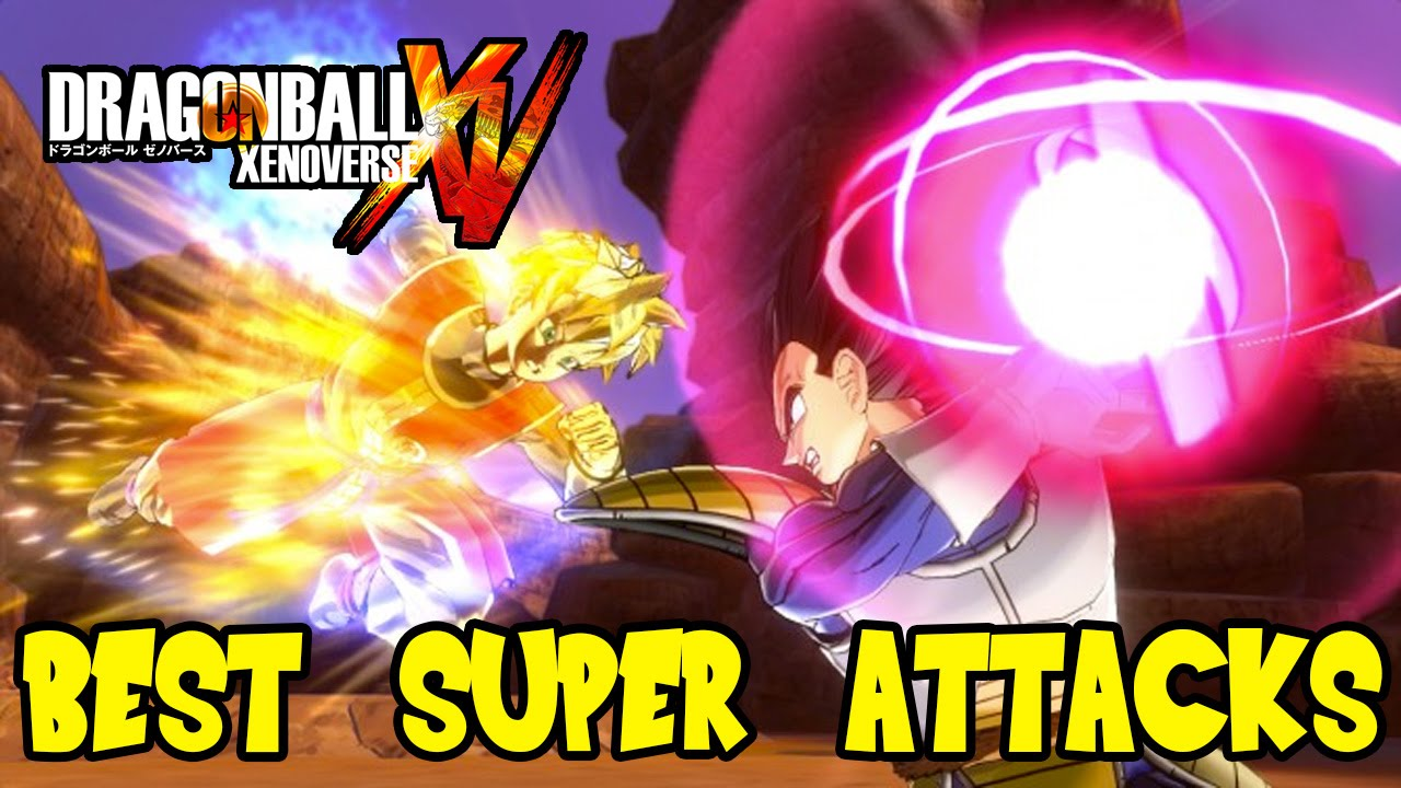 Dragon Ball Xenoverse: Best Super Attacks (Instant
