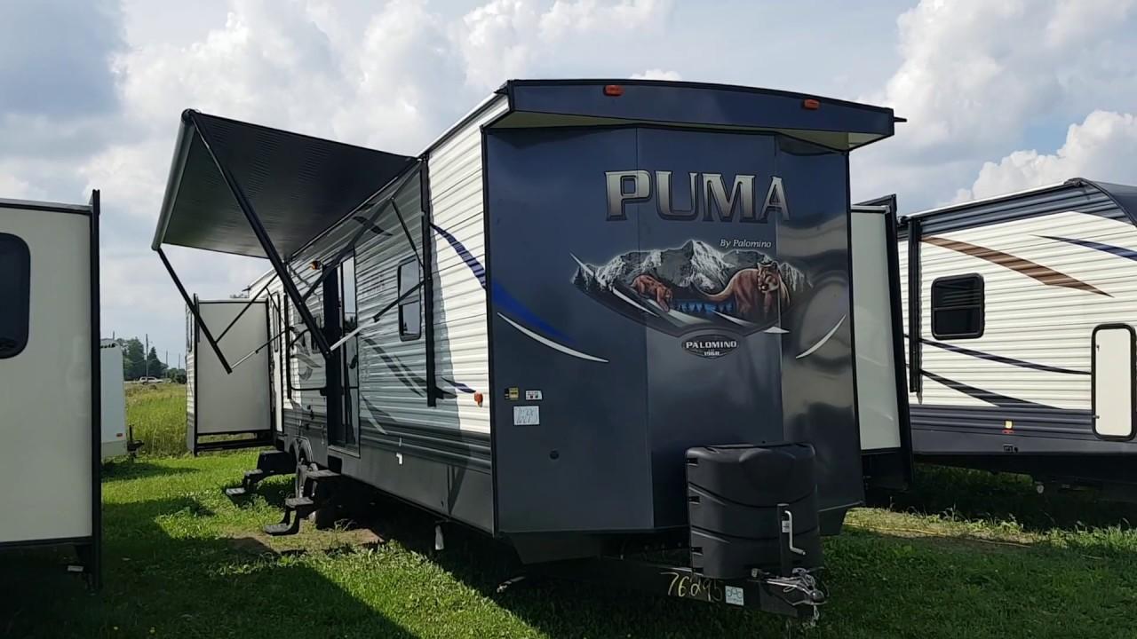 2019 Puma 39PQB 2 bedroom Destination Trailer with Quad ...
