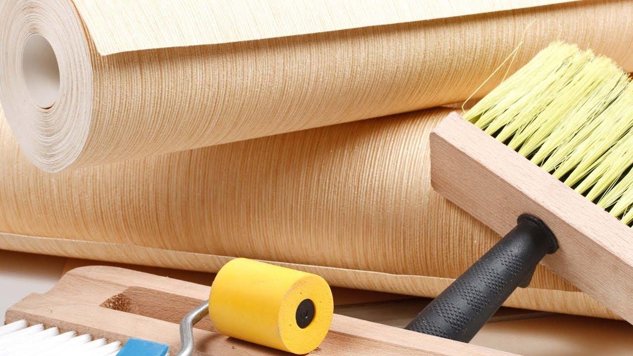 Строим дом сами, поклейка обоев, укладка ламината. Серия №24