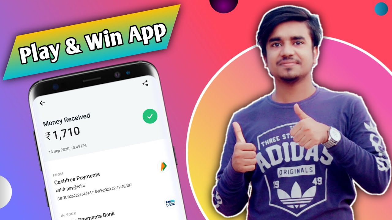 Best Play & Win App - 2020 New Gaming Earning App ||  Minimum Redeem Only ₹1 /-  || Google Tricks