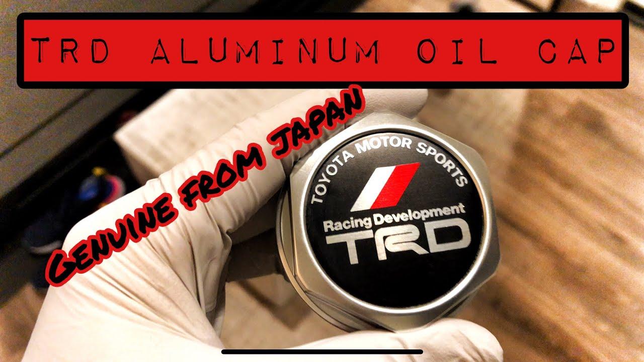 TRD Aluminum Oil Filler Cap Upgrade  2017 4Runner TRD PRO