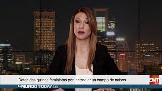 Detenidas quince feministas por incendiar un campo de nabos | El Mundo Today 24H