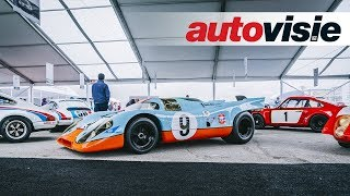 Zeventig jaar Porsche-racewagens op de Rennsport Reunion
