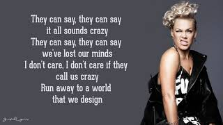 A Million Dreams - P!nk (Lyrics) Video