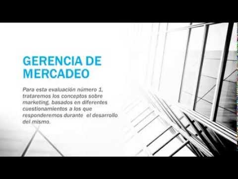 ESPECIALIZACIÓN EN GERENCIA DE MERCADEO de YouTube · Alta definición · Duración:  4 minutos 8 segundos  · 164 visualizaciones · cargado el 11.02.2012 · cargado por Institución Universitaria Esumer