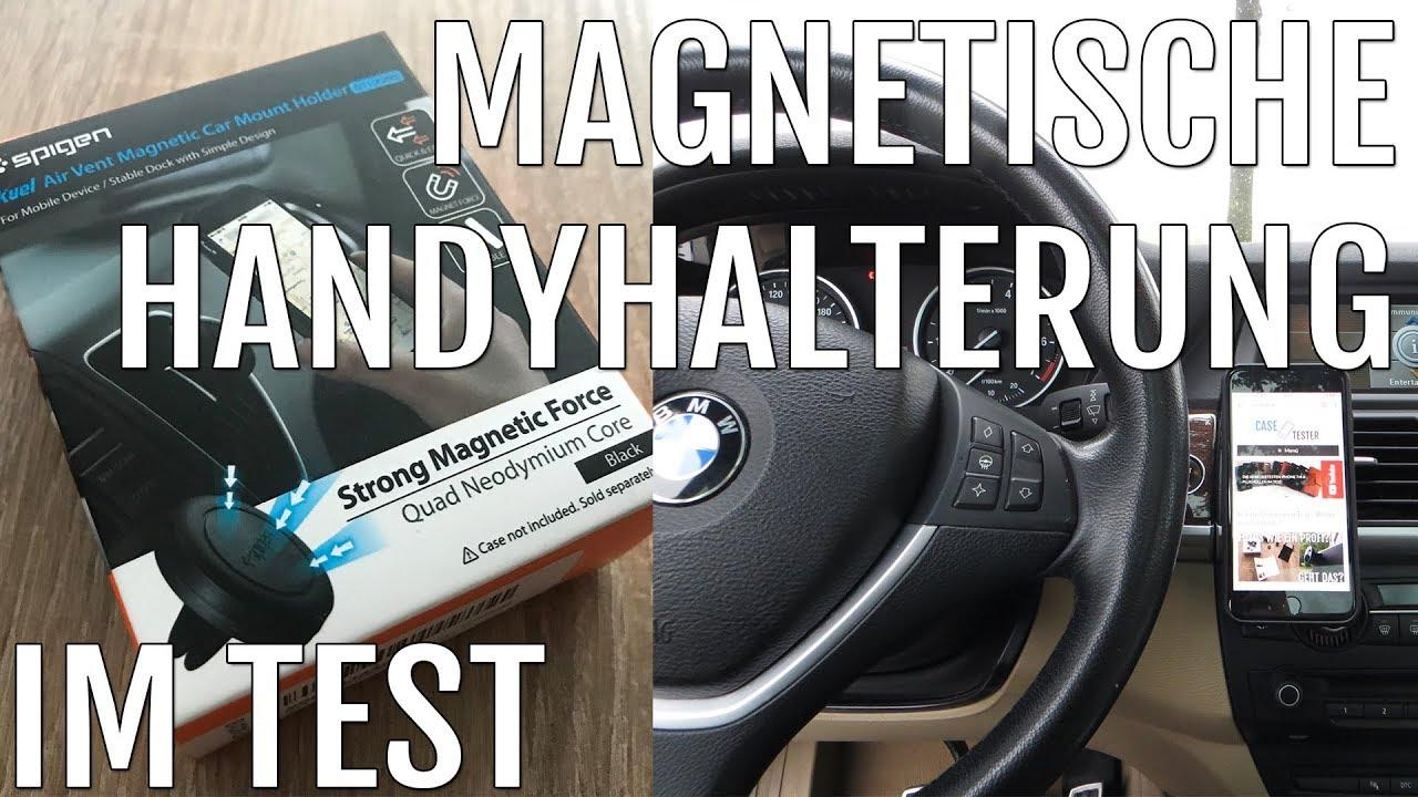 auto handyhalterung mit magnet im test die perfekte halterung youtube. Black Bedroom Furniture Sets. Home Design Ideas