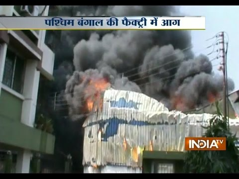 West Bengal: Fire Breaks Out at Plastic Factory in North 24 Parganas