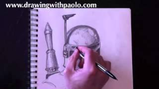 Drawing Boba Fett with Paolo Morrone