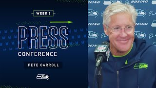 Head Coach Pete Carroll Postgame Press Conference at Browns | 2019 Seattle Seahawks