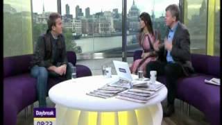 Daybreak (Bradley Walsh interviewed by Adrian Chlies and Christine Bleakley)