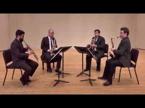 Amethyst Quartet - Girl with the Flaxen Hair by Claude Debussy