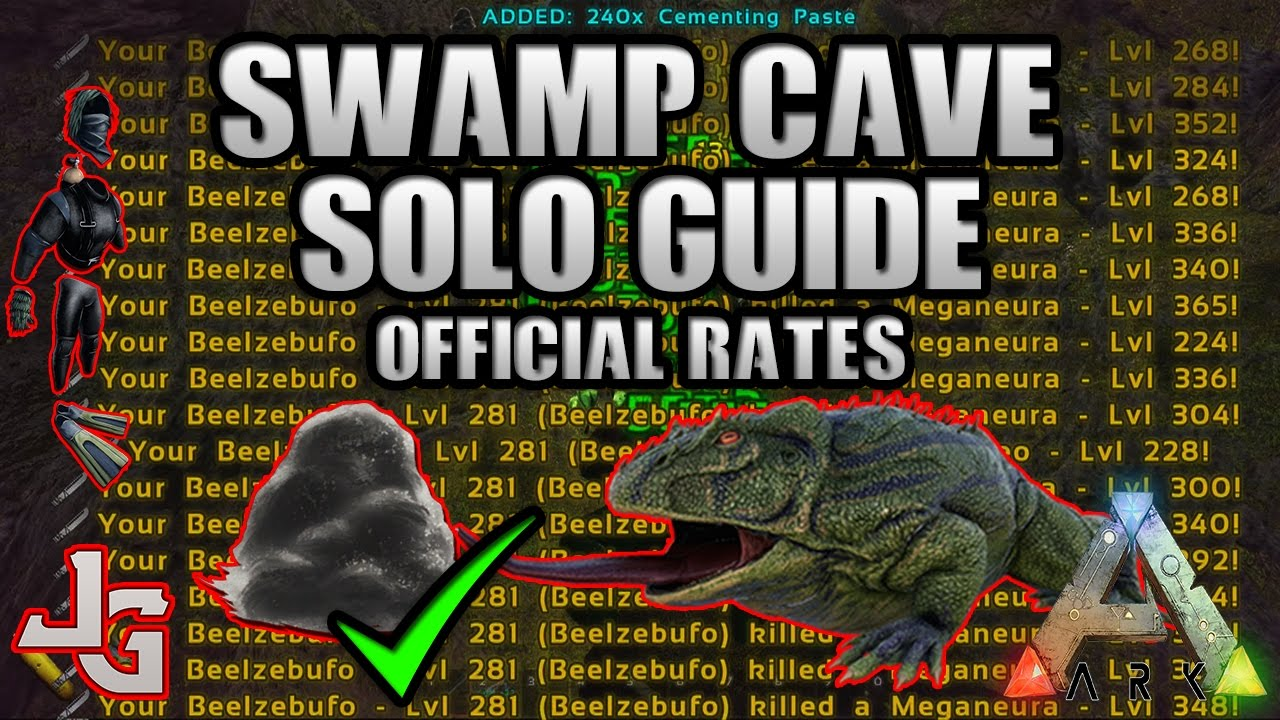 Ark Swamp Cave Solo Guide 2017 How And What Do You Need