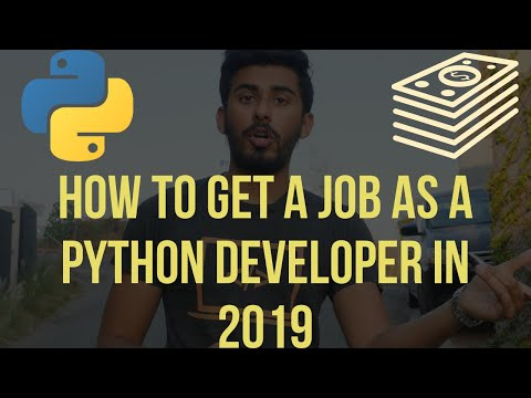 How to Get a Job as a Python Developer in 2019