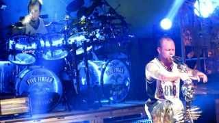 Five Finger Death Punch - Never Enough Live @ The Ritz in Raleigh NC 10/15/2013