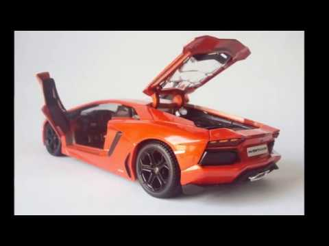 lamborghini aventador, escala 1:24 - youtube
