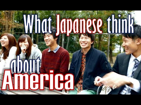 Thumbnail: What Japanese think about America (Their Voices) 大学生インタビュー・クイズ (アメリカ)