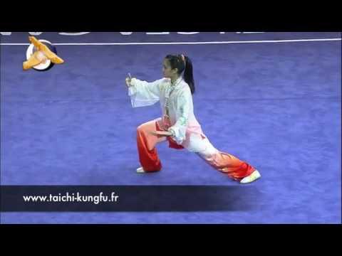 Taichi Moderne Compétition Singapore 2015   Chan Lu Yi