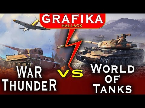 War Thunder vs World of Tanks - Wielkie porównanie grafiki - która lepsza?