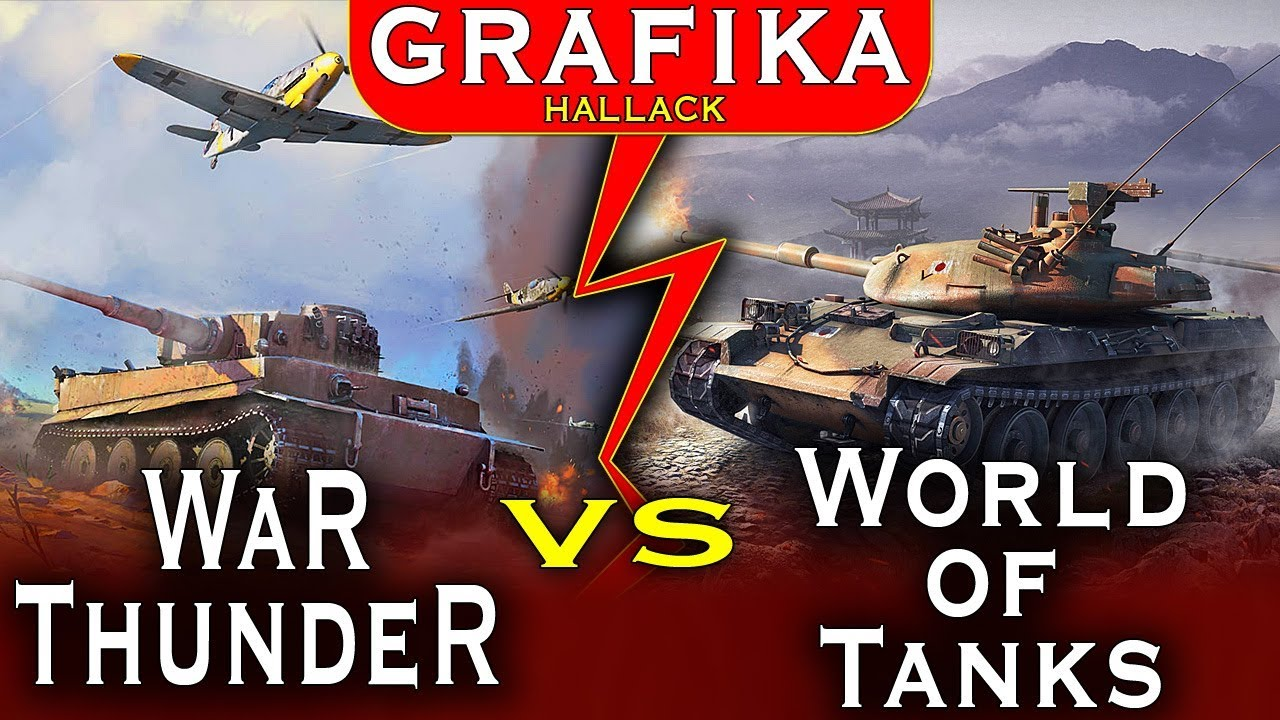 War Thunder vs World of Tanks – Wielkie porównanie grafiki – która lepsza?