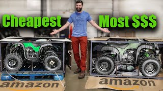 I BOUGHT Amazon's CHEAPEST and MOST EXPENSIVE ATVs