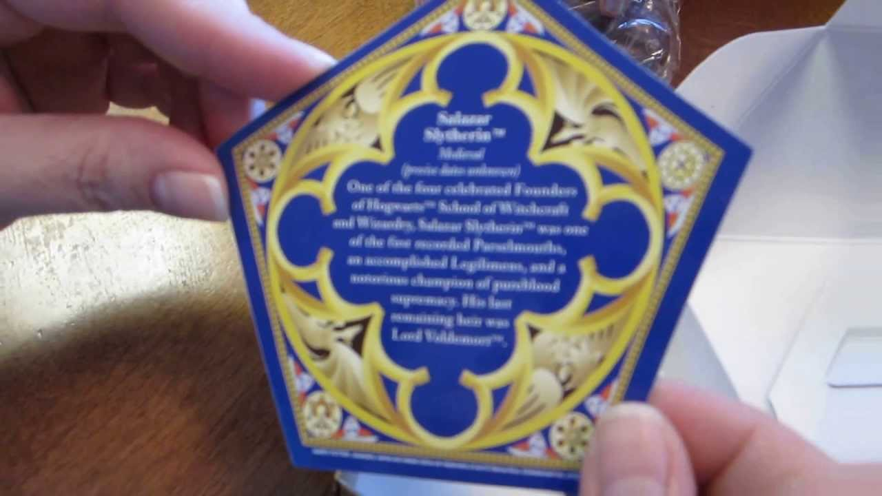 How To Make Harry Potter Chocolate Frog Cards