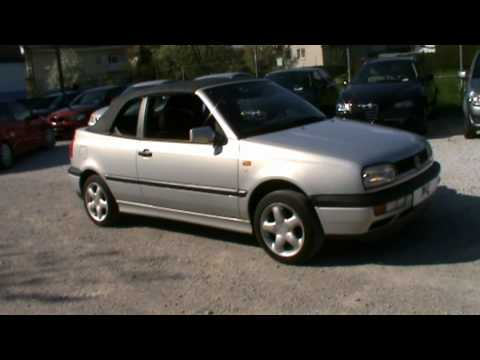 VW Golf cabrio Full Review,Start Up, Engine, and In Depth Tour
