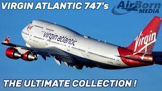 All Virgin Atlantic 747's G-VBIG G-VXLG G-VGAL G-VROY G-VROM G-VAST G-VLIP G-VROS
