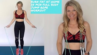 At home workout for weight loss jumping rope