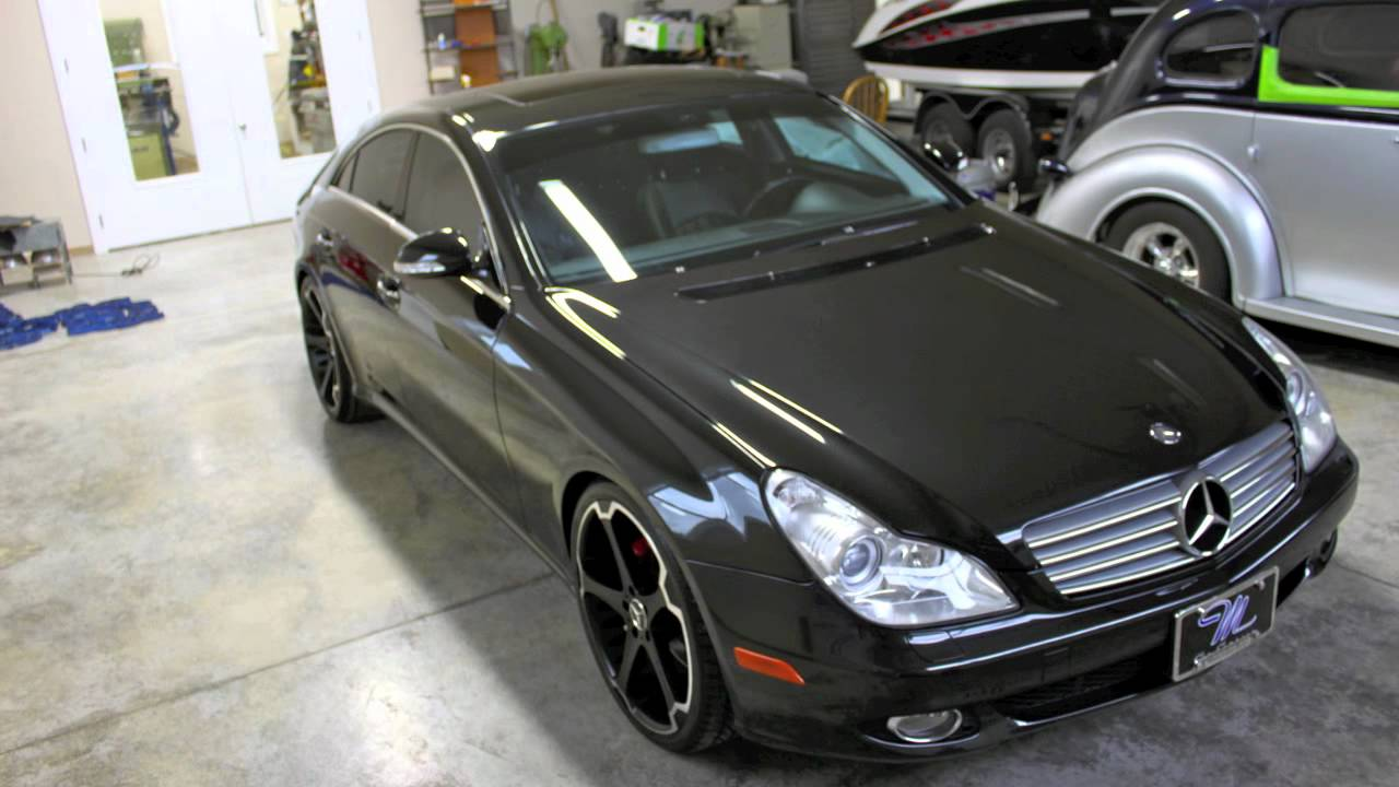 2006 mercedes benz cls500 for sale with 40k miles youtube. Black Bedroom Furniture Sets. Home Design Ideas
