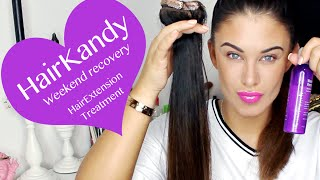 Hair Kandy - Kandy Care HOW TO restore your hair extensions - PRODUCT REVIEW