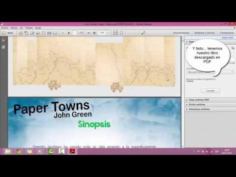 Descargar Gratis Libro Ciudades de Papel Paper Towns John Green