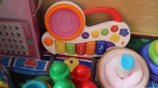видео Игрушки для детей от 9 до 12 месяцев