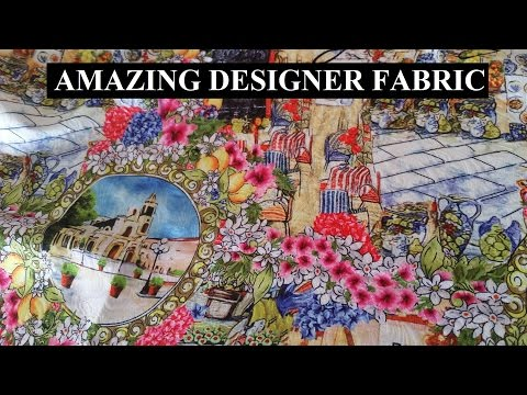 Amazing Designer Fabric