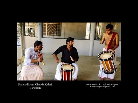 Chenda Melam Class | Panchari Melam | 3-4-5 Kaalam | Kalavadhyam Chenda Kalari, Bangalore