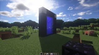 Minecraft Shader test on gtx 1050 + g4560