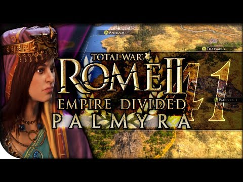 Palmyra Lays Siege to Rome | Total War Rome II — Empire Divided: Palmyra 41 | DLC Campaign Normal