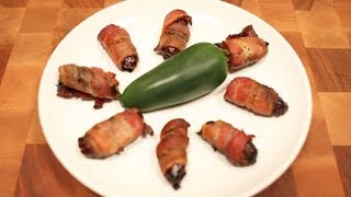Bacon Wrapped Jalapeno And Date Recipe - Amazing Appetizer