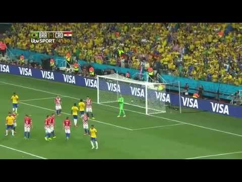 World Cup 2014 / Brazil vs Croatia / Group A / ITV Highlights