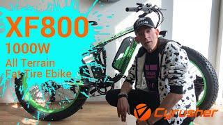 Cyrusher XF800 Electric Fat Tire Bike Reviews By Glen Orpheus