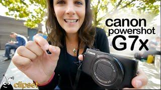 Canon Powershot G7x preview Photokina Videorama