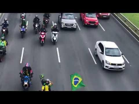 MOTOCIATA EM SALVADOR BH PRO-BOLSONARO